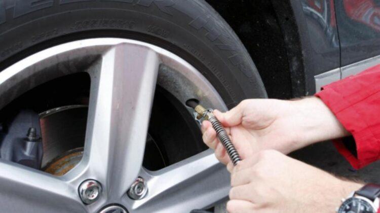 Presión correcta en los neumáticos